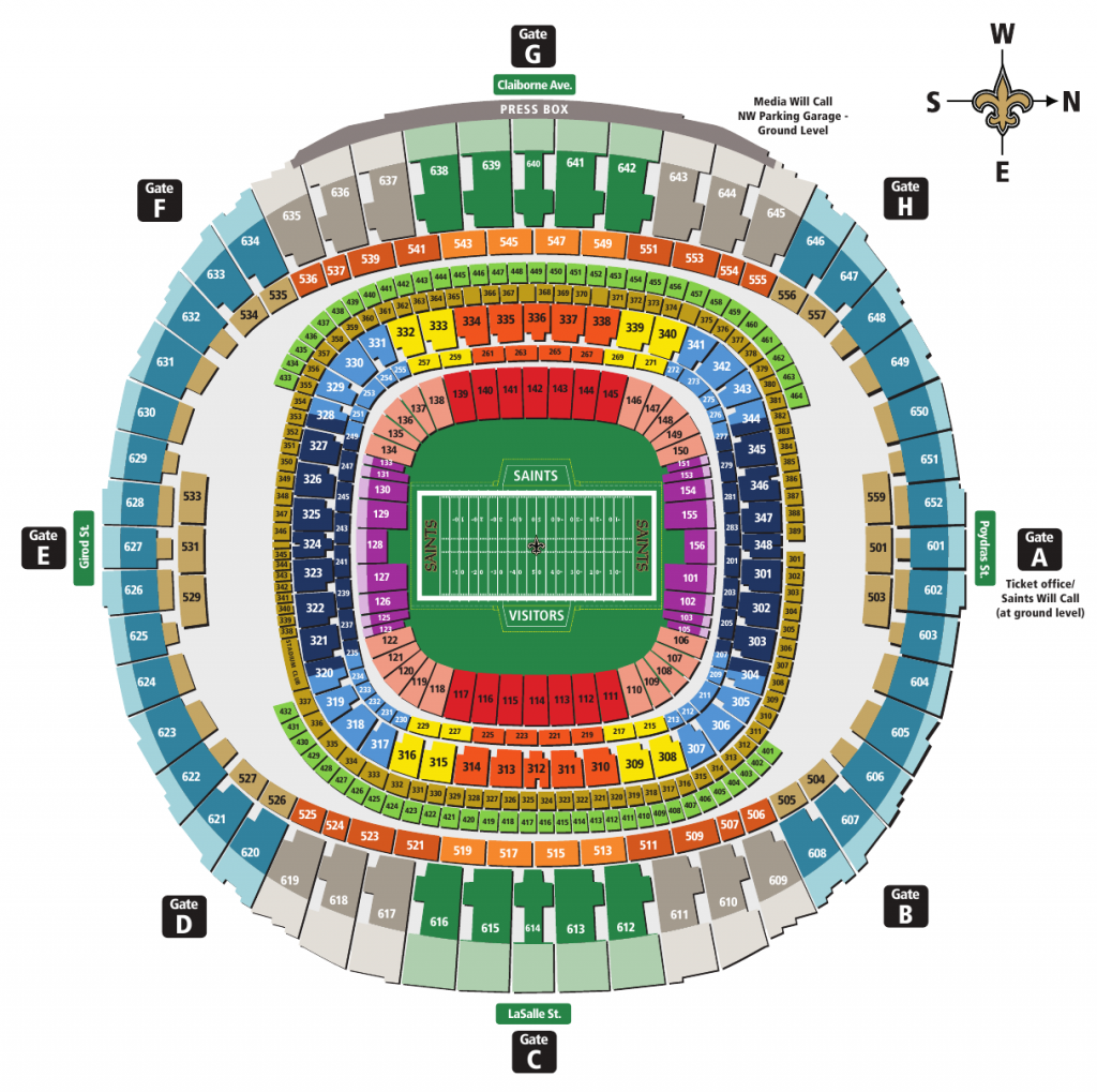 Sugar bowl tickets for Best seats in mercedes benz superdome