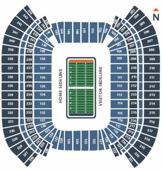 San Diego Chargers Club Seats: Music City Bowl Tickets