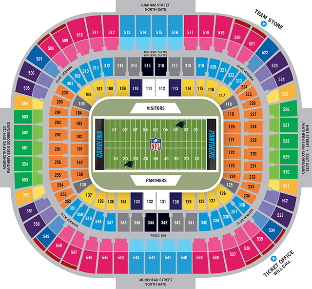 Carolina panthers vs miami dolphins tickets november 13 2017